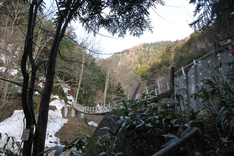 日向オソロシ滝橋