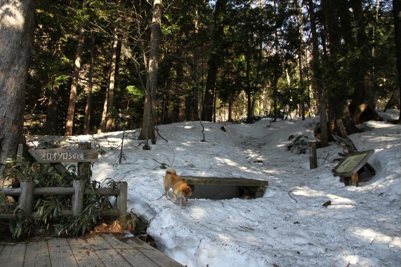オロオソロシの滝展望台
