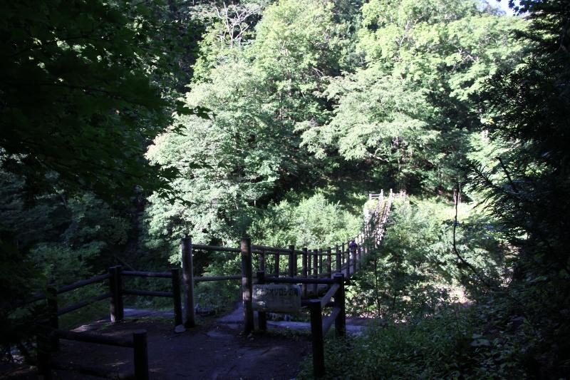 ヒナタオソロシの滝橋