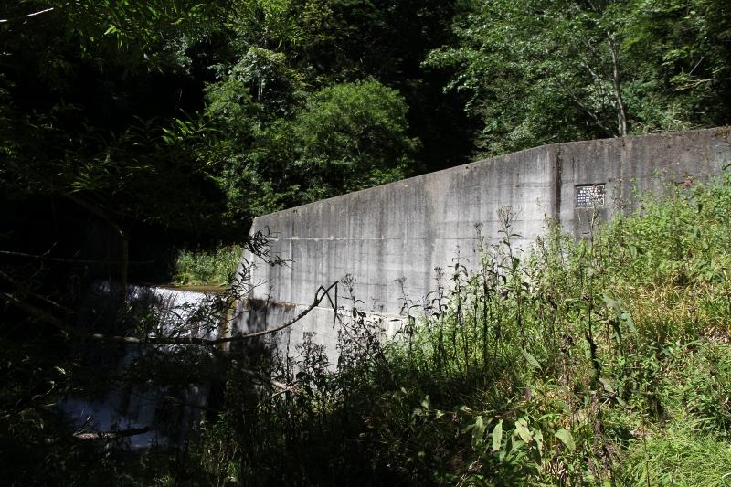 三つ目の堰堤