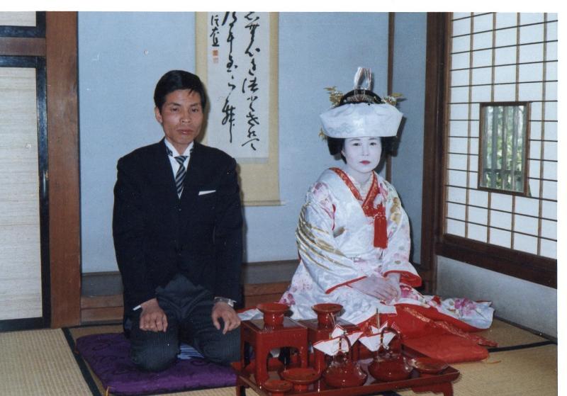 父母結婚式