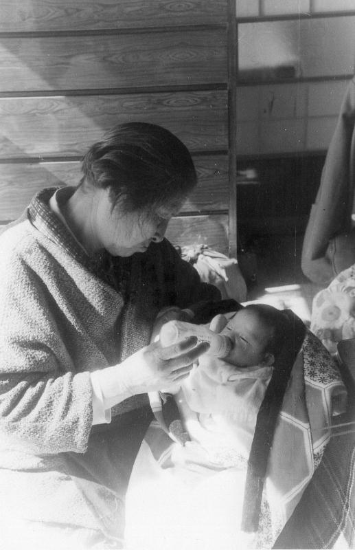 父方祖母と私