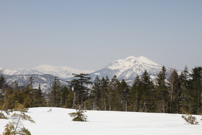 燧ヶ岳と平ヶ岳